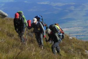 hikers climbing - Jurgen