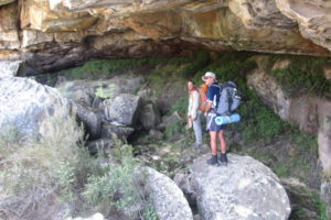 rock overhang-retha