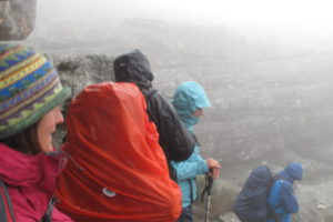 hiker group rain-ovan