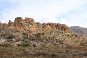 rocky landcape - charles powne